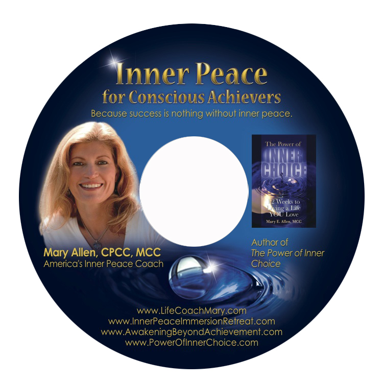 Inner Peace for Conscious Achievers CD