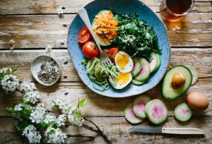 self-care - healthy food