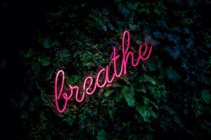 stop stress - breathe