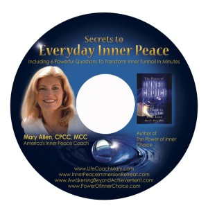 Secrets to Everyday Inner Peace CD